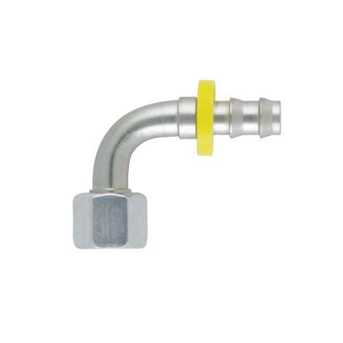 C5 - Push-Lok koncovka DKL 90° nástrčná s maticí