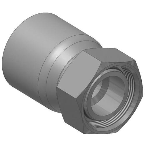 CA - koncovka DKOL vysokotlaká přímá s objímkou a s maticí