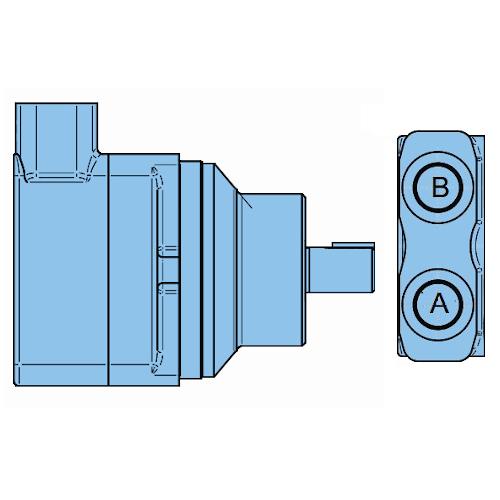 Mobilní lamelové motory Denison do 350bar M5A-M5B