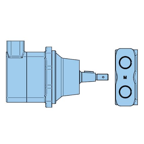 Mobilní lamelové motory Denison do 350bar M5AF-M5AF1