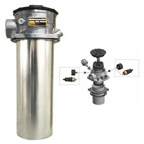 GLF1 - hydraulické nízkotlaké filtry k nádrži