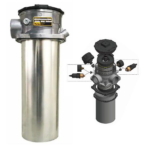 GLF2 - hydraulické nízkotlaké filtry k nádrži
