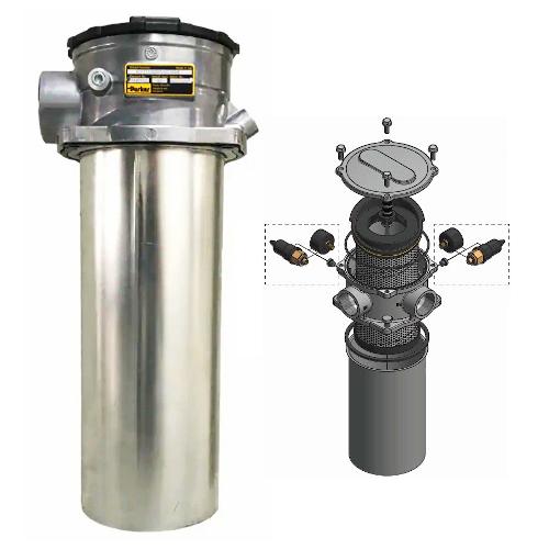 GLF3 - hydraulické nízkotlaké filtry k nádrži
