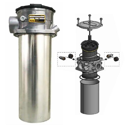 GLF4 - hydraulické nízkotlaké filtry k nádrži
