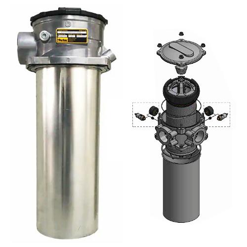 GLF5 - hydraulické nízkotlaké filtry k nádrži