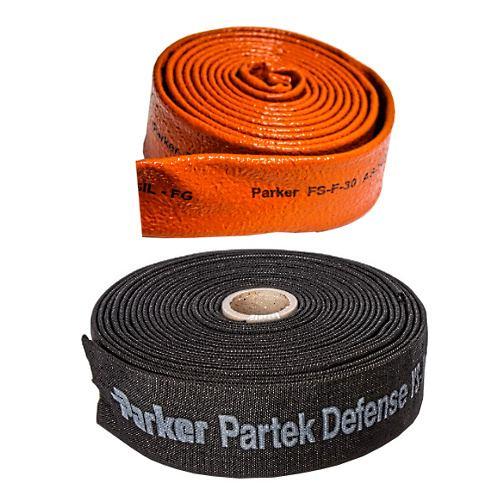 Ochrana hadic - spirály a návleky