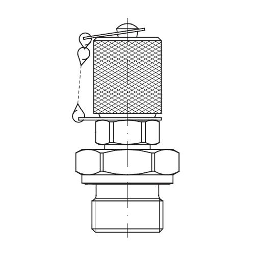 Hydraulické měřící body EMA4 s připojením M16x1,5