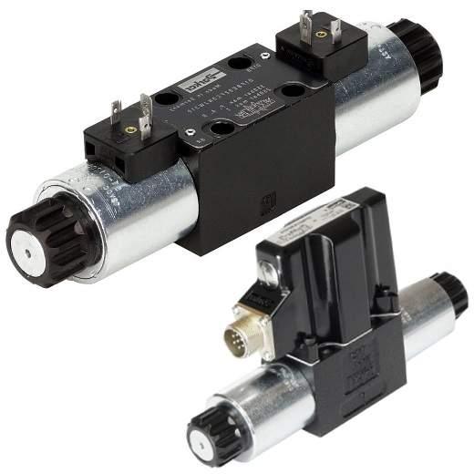 Hydraulické proporcionální DC ventily