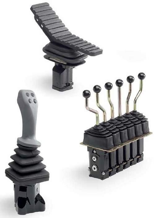 Hydraulické proporcionální ventily pro mobilní hydrauliku