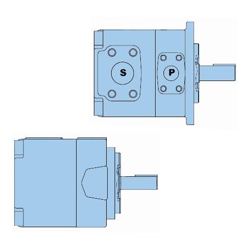 Průmyslová lamelová samostatná čerpadla T6C