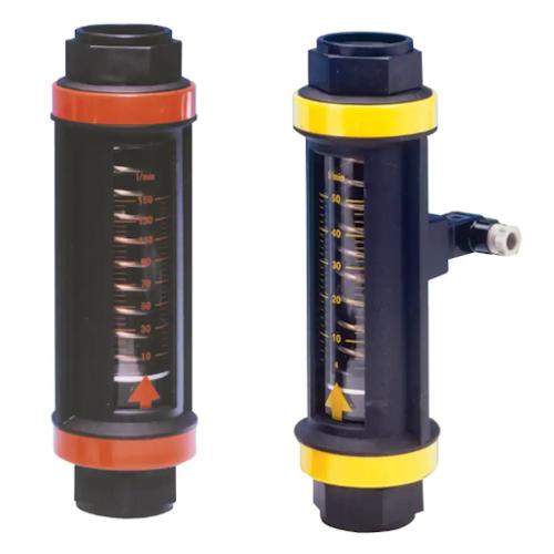 Průtokoměry s přepínačem toku na vodu a olej EF