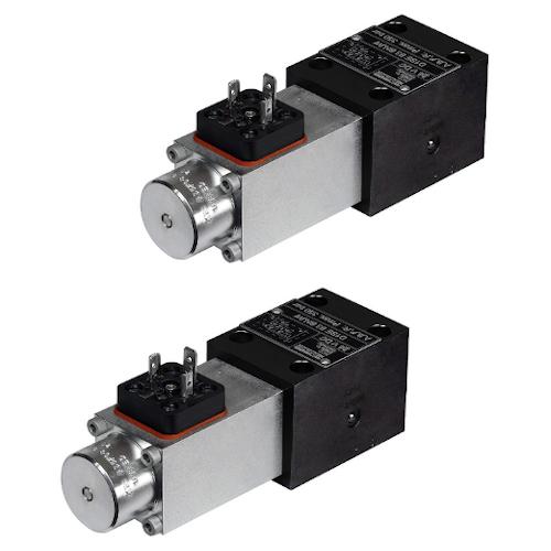 Sedlové hydraulické rozvaděče elektricky ovládané