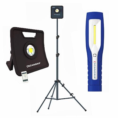 Pracovní LED svítilny a reflektory SCANGRIP