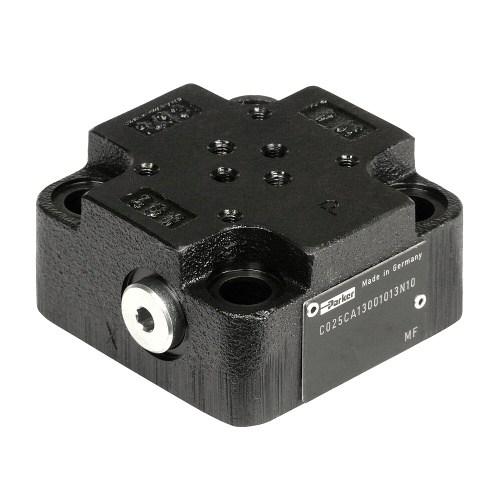 C-CA - víka pro montáž řídících ventilů