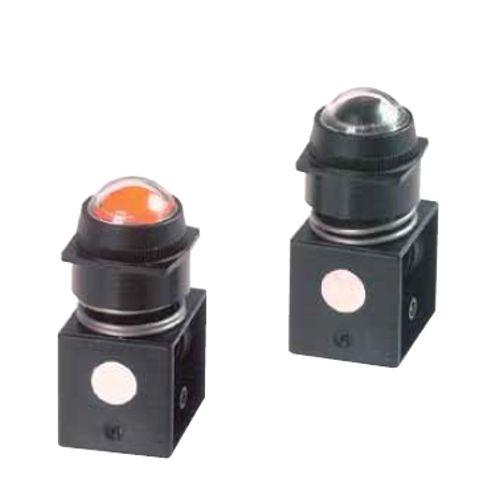 PXV - ukazatele tlaku ventilu s různou barevnou indikací