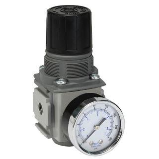 "Regulátor kompaktní s manometrem, G1/2""vni, 8 bar, max. 78 l/s"