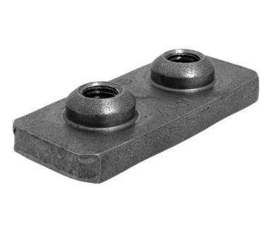 Navařovací destička pro příchyty trubek APC serie C