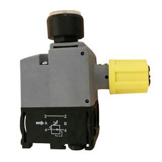 Pneumatický regulátor tlaku s manometrem