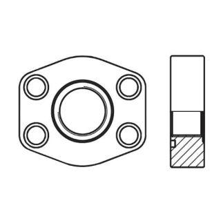 Hydraulická vysokotlaká příruba celá PAFSF-G