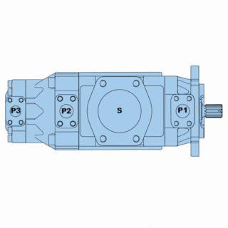 Lamelové trojité čerpadlo T7DDB-T7DDBS