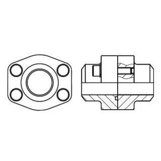 Hydraulická vysokotlaká příruba PDFS-B