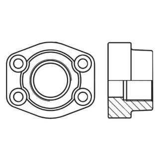 Hydraulická vysokotlaká příruba celá PCFF-G