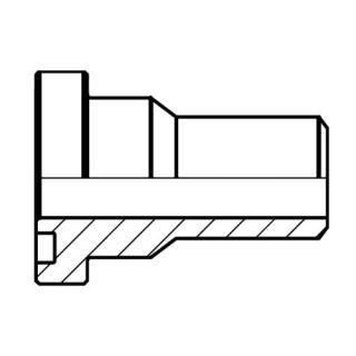 Hydraulický vysokotlaký redukovaný adaptér příruby ASR