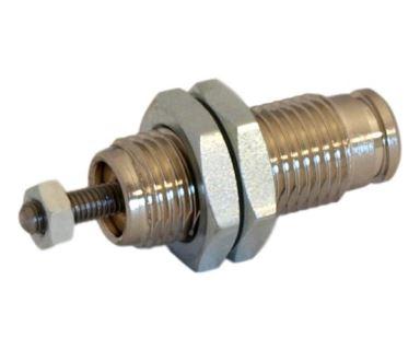 Jednočinný pneumatický válec s nízkým zdvihem, píst 6mm / zdvih 10mm