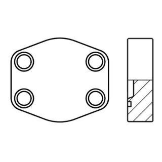 Hydraulická vysokotlaká příruba PCFF