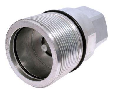 Stucchi rychlospojka šroubovací BSP, s kuželovým ventilem, serie VD