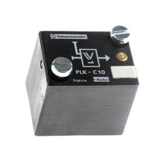 Modul s optickou indikací pro pneumatické logické prvky