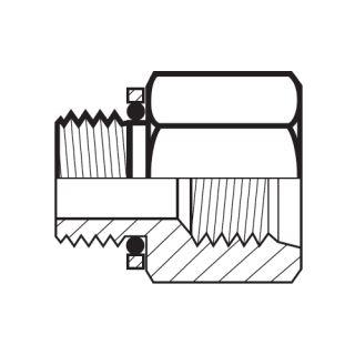 Hydraulický adaptér F4OHG5S/F4OHMG5S