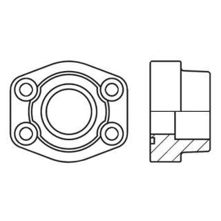 Hydraulická vysokotlaká příruba PAFS-S