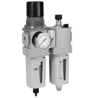 Filtr/Regulátor, přimazávače pro úpravu vzduchu P32CA