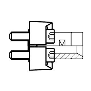 Hydraulický vysokotlaký adaptér příruby GFS-G