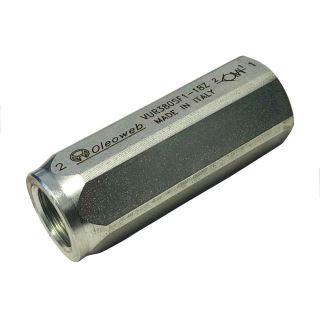 """Zpětný ventil jednosměrný G3/8"""" 400bar/1bar"""