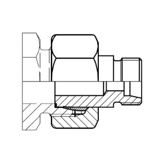 Hydraulická spojka redukce KOR