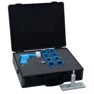 Pneumatická pistole pro čištění hadic a trubek 6-20mm sada