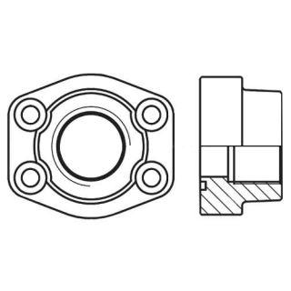 Hydraulická vysokotlaká příruba celá PCFF-N
