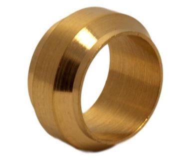 Tlakový 0124 zářezný prstýnek mosazný Legris