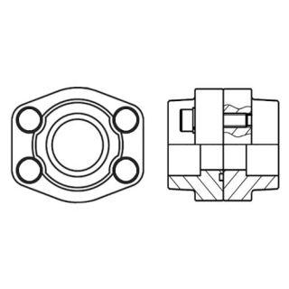 Hydraulická vysokotlaká příruba PDFS-S