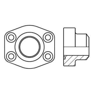 Hydraulická vysokotlaká příruba PAFS-B