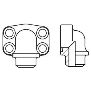 Hydraulická vysokotlaká příruba PAFS-90B