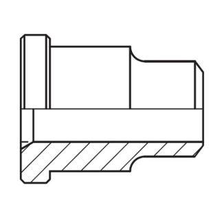 Hydraulický vysokotlaký redukovaný adaptér příruby ASL