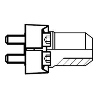 Hydraulický vysokotlaký redukovaný adaptér příruby AS