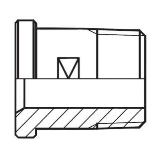 Hydraulický vysokotlaký adaptér příruby GFS-N