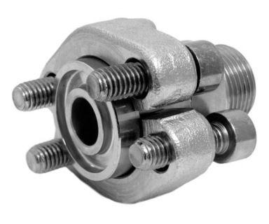 Hydraulický vysokotlaký adaptér příruby GFS